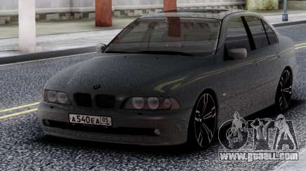 BMW 540i E39 Chrome for GTA San Andreas