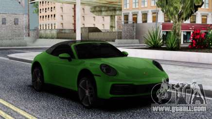 Porsche 911 Cabriolet Carrera 4S 2020 for GTA San Andreas