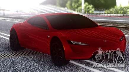 Tesla Roadster 2020 for GTA San Andreas