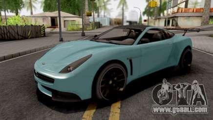 Dewbauchee Massacro Racecar GTA 5 for GTA San Andreas