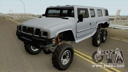 Mammoth Patriot 6x6 GTA V for GTA San Andreas
