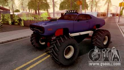 Plymouth GTX Monster Truck 1972 for GTA San Andreas