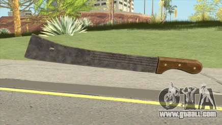 Machete (PUBG) for GTA San Andreas