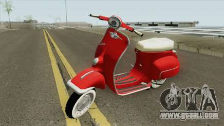 Vespa 150SS Red Style for GTA San Andreas