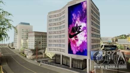 Nike Billboard for GTA San Andreas