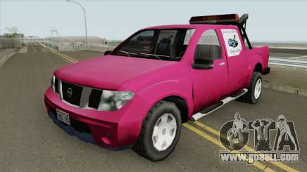 Nissan Frontier TowTruck (SA Style) for GTA San Andreas