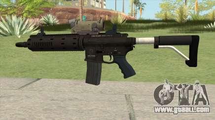Carbine Rifle GTA V V2 (Flashlight, Tactical) for GTA San Andreas