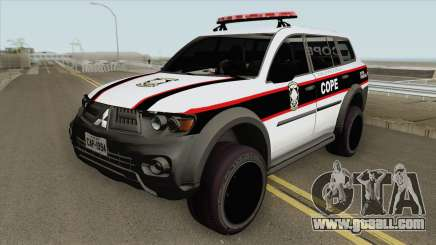Mitsubishi Pajero Dakar 2013 (COPE) for GTA San Andreas
