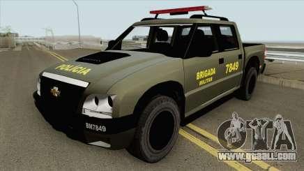 Chevrolet S10 (Brigada Militar) for GTA San Andreas