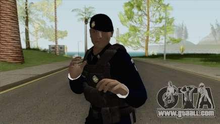 Brazilian Police Skin V2 for GTA San Andreas