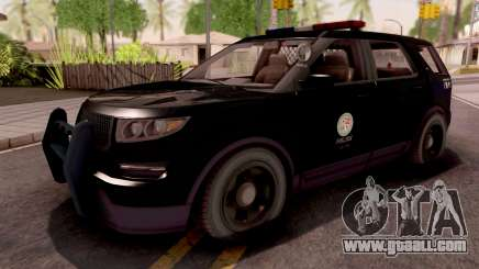 Vapid Scout Los Santos Police for GTA San Andreas