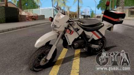 XT660 Beta Sanchez Edit for GTA San Andreas