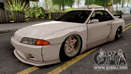 Nissan Skyline R32 1993 Rocket Bunny Pandem for GTA San Andreas
