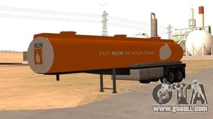 LQ Petrol Tanker RON for GTA San Andreas
