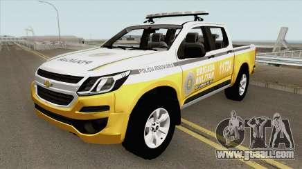 Chevrolet S10 (Brazilian Police) for GTA San Andreas