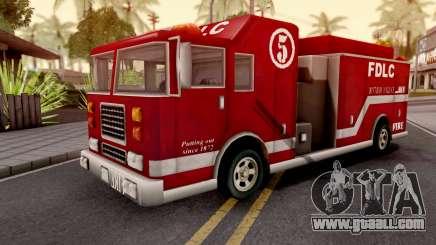 Firetruck GTA III Xbox for GTA San Andreas
