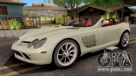 Mercedes-Benz SLR Roadster for GTA San Andreas