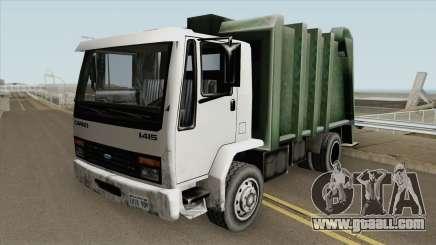 Ford Cargo 1415 Trash (SA Style) for GTA San Andreas