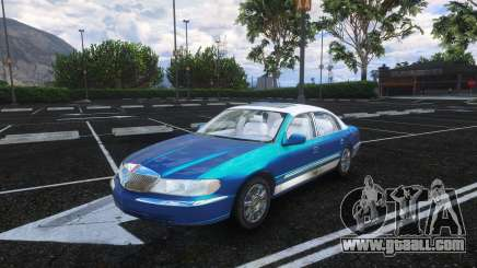 Lincoln Continental 2002 v1.0 for GTA 5