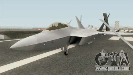 F-22 Raptor MQ for GTA San Andreas