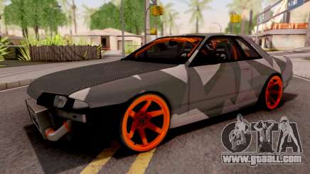 Nissan Skyline R32 Drift Camo v5 for GTA San Andreas