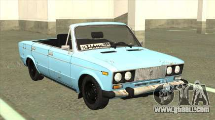 VAZ 21063 Old rusty convertible for GTA San Andreas