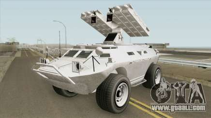 HVY APC Missile Lancher Amphibius GTA V for GTA San Andreas