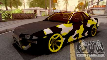 Nissan Skyline R32 Drift Camo v3 for GTA San Andreas