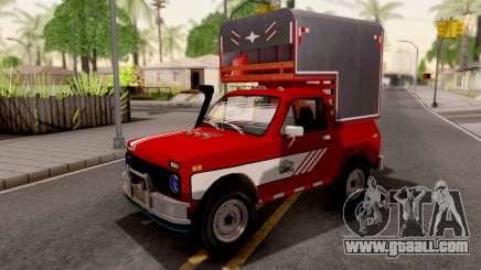 Lada Niva Pick-Up for GTA San Andreas