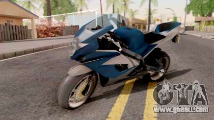 Suzuki GSX R1000 for GTA San Andreas