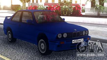 BMW M5 E30 Blue for GTA San Andreas