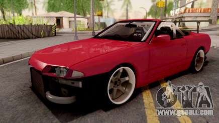 Nissan Skyline R32 Cabrio Drift for GTA San Andreas