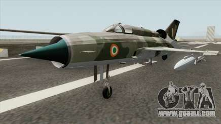 New MiG-21 for GTA San Andreas