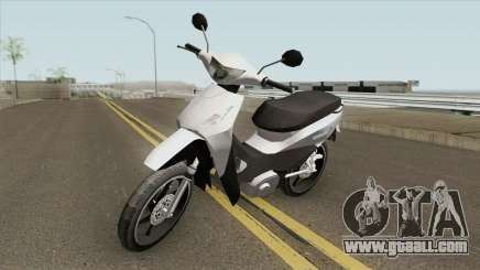 Honda Biz 125CC - Reduzida for GTA San Andreas