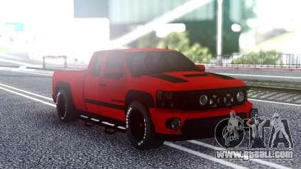 Chevrolet Silverado Sport for GTA San Andreas