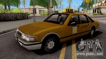 Taxi GTA III Xbox for GTA San Andreas