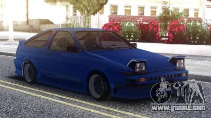 Toyota Corolla AE86 Sportcar for GTA San Andreas