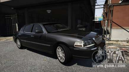 Lincoln TownCar 2010 v1 for GTA 5