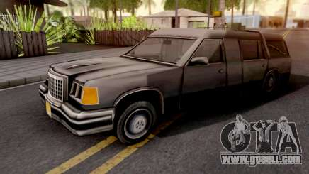 Romero Hearse GTA VC Xbox for GTA San Andreas