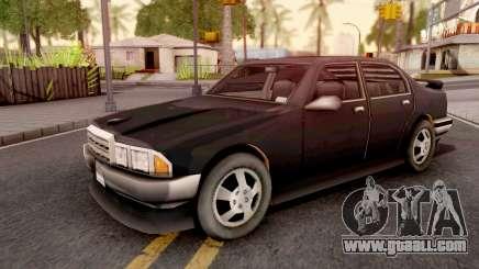 Mafia Sentinel GTA III Xbox for GTA San Andreas