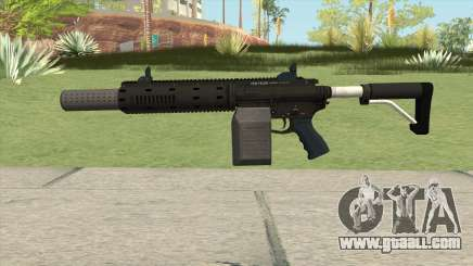 Carbine Rifle GTA V Silenced (Box Clip) for GTA San Andreas
