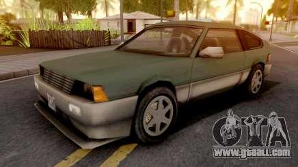 Blista Compact GTA VC Xbox for GTA San Andreas