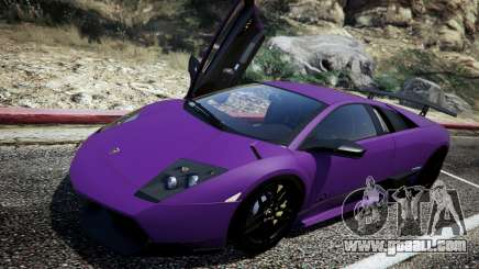 Lamborghini Murcielago LP670-4 SuperVeloce for GTA 5