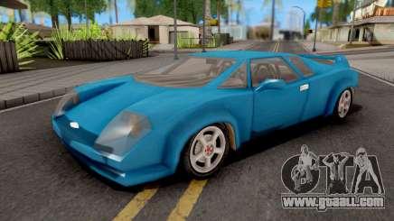Infernus GTA VC Xbox for GTA San Andreas