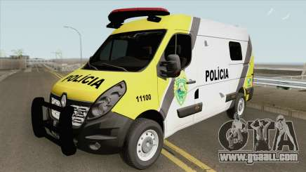 Renault Master 2017 (Policia Militar Do Parana) for GTA San Andreas