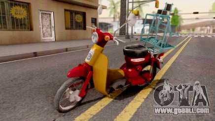Honda Super Cub Business for GTA San Andreas
