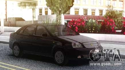 Chevrolet Lacetti Black for GTA San Andreas