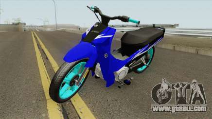 Yamaha New Crypton Stunt for GTA San Andreas