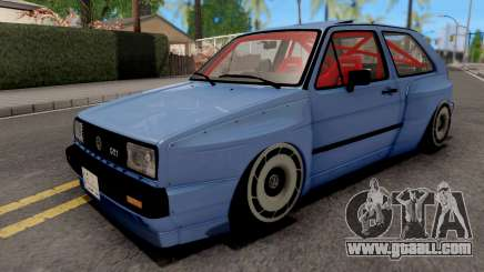 Volkswagen Golf Mk2 GTI 1984 Rocket Bunny for GTA San Andreas