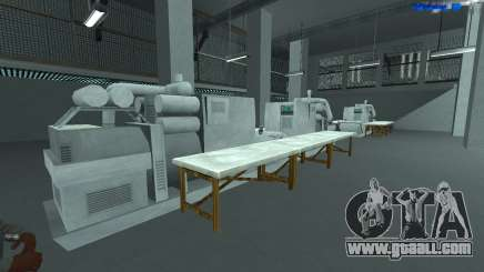 New factory (Version 1) for GTA San Andreas